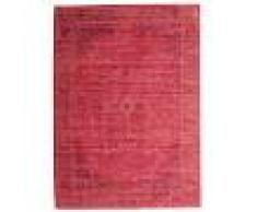 RugVista Tappeto Vintage Maharani 140X200 Shabby Chic/Overdyed Rosso/Ruggine/Rosso