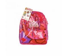 Set mare zaino telo cappello costumino slip costume da bagno bimba bambina Barbie 6A