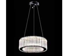 Lampadario a sospensione 18w design moderno pendenti in cristallo CODICE 9916