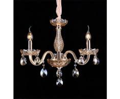 Lampadario da 3 luci lampada In vetro Cristallo 2012-3