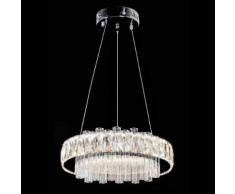Lampadario a sospensione 25w design moderno pendenti in cristallo CODICE 9923