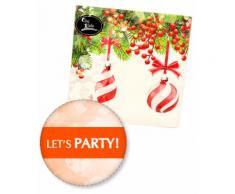 Tovaglioli di Natale Pretty Christmas Givi Italia pz.16 cm.33x33