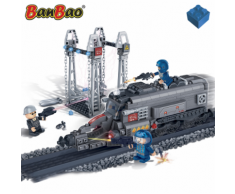 BanBao Gioco treno forze speciali 6208