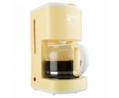 Bestron Macchina da Caffe 1080 W Giallo Vaniglia ACM300EVV