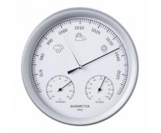 Nature Barometro 3 in 1 con Termometro ed Igrometro 20 cm 6080081