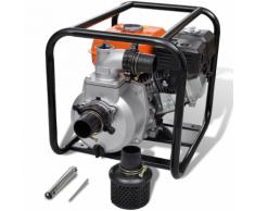 vidaXL Pompa d'acqua con motore a benzina 80 mm collegamento 6,5 HP