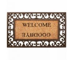 Esschert Design Zerbino Welcome/Goodbye Gomma RB12