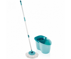 Leifheit Set Mocio Pavimenti a Disco Clean Twist Active Verde 56793
