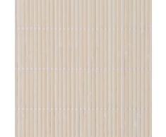 vidaXL Carta da parati in bambù 1,5 x 5 m naturale
