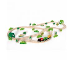 Hape Set Pista treno bosco E3713