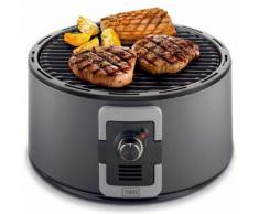 Trebs Barbecue Portatile a Carbone 35cm con Sacca Trasporto 99338 Nero