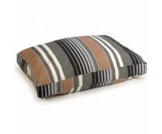 Beeztees Letto per cani Lucky Stripe 100x70 cm 706574 Marrone