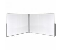 vidaXL Tenda da sole laterale retrattile 180x600 cm crema