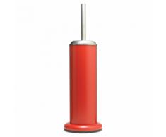 Sealskin Porta Scopino da Bagno e Supporto in Acero Rosso 361730559