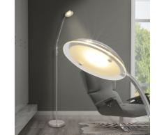 vidaXL Lampada da terra a LED dimmerabile 5 W
