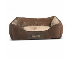 Scruffs & Tramps Cuccia Cani Chester Taglia L 75x60 cm Marrone 1167