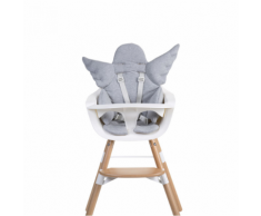 CHILDWOOD Cuscino Universale Seggiolone Angel Cotone Grigio CCASCGR