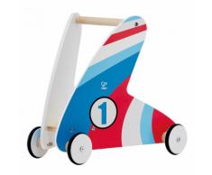 Hape Step & Stroll E0377 Girello cavalcabile bambini macchina da corsa