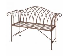 Esschert Design Panchina in Metallo Stile Old English MF009