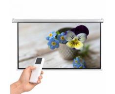 vidaXL Schermo per Proiettore Elettrico con Telecomando 200x113cm 16:9