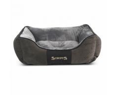 Scruffs & Tramps Cuccia per Cani Chester Taglia S 50x40 cm Grigio 1164