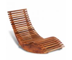 Sdraio in legno acquista sdraie in legno online su livingo for Sdraio a dondolo amazon