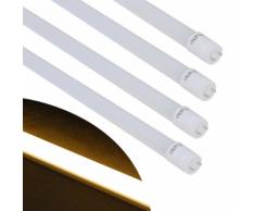 vidaXL Tubo LED T8 Luce Calda Bianco 15 W 90 cm 4 pz