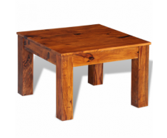 vidaXL Tavolino per caffè in legno massello di sheesham 60 x 40 cm