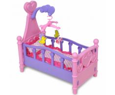 vidaXL Giochi Da Camera Per Bambini Culla Bambole Rosa + Viola