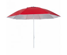 Pure2Improve Ombrellone Anti UV 240 cm Rosso P2I700060