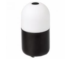 SMOOZ Luce notturna a LED / Lampada da tavolo Bean nera 4506231