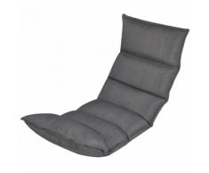 vidaXL Materasso flessibile pieghevole compatto in tessuto per divano grigio