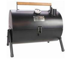 Gusta Barbecue a Carbonella e Affumicatore 2 in 1 Nero 03251000