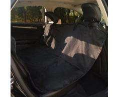 vidaXL VidaXL Coperta per Cani Sedile Posteriore Auto 148x142 cm nero