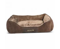 Scruffs & Tramps Cuccia Cani Chester Taglia XL 90x70 cm Marrone 1169