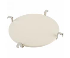 Landmann Deflettore / Piatto da Pizza 47,5 cm Bianco 15900