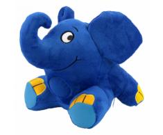Ansmann 3-in-1 Luce Notturna per Dormire Elefante 23x23x21 cm Blu 1800-0014