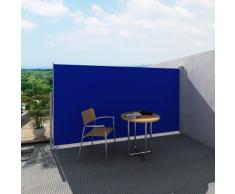 vidaXL Tenda laterale per patio e terrazzo 160 x 300 cm blu