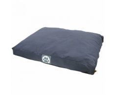 Overseas Cuccia per cani in tela 55x75x10 cm blu marino