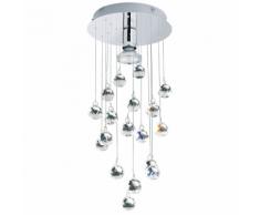 EGLO Luxy 1 89527 Lampada da soffitto in cristallo