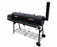 vidaXL Barbecue smoker XL Nevada da esterno