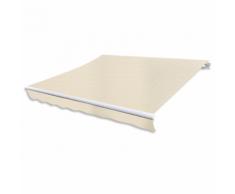 vidaXL Tenda da Sole Pieghevole 600 x 300 cm Crema