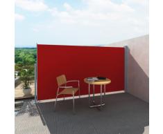 vidaXL Tenda laterale per patio e terrazzo 160 x 300 cm rossa