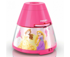 Philips Disney Princess Luce Notturna e Proiettore 2in1 Rosa 717692816