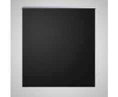 vidaXL Tenda a rullo oscurante buio totale 80 x 175 cm Nera