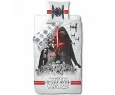 Disney Set Copripiumino Bambini Star Wars 200x140 cm Bianco DEKB930119