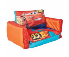 WorldsApart Disney 2-in-1 Divano Letto Cars Arancione 105x68x26 cm WORL320023