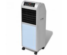 vidaXL Climatizzatore 120 8L 385 m³/h 37,5x35x94,5 cm