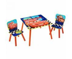 Disney 3 Pz Set Tavolo e Sedie Cars WORL320021