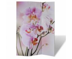 vidaXL Parete divisoria privacy divisorio 120 x 180 fiore